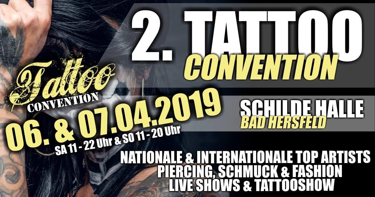 2. Tattoo Convention Bad Hersfeld - Schilde-Halle  - Bad Hersfeld