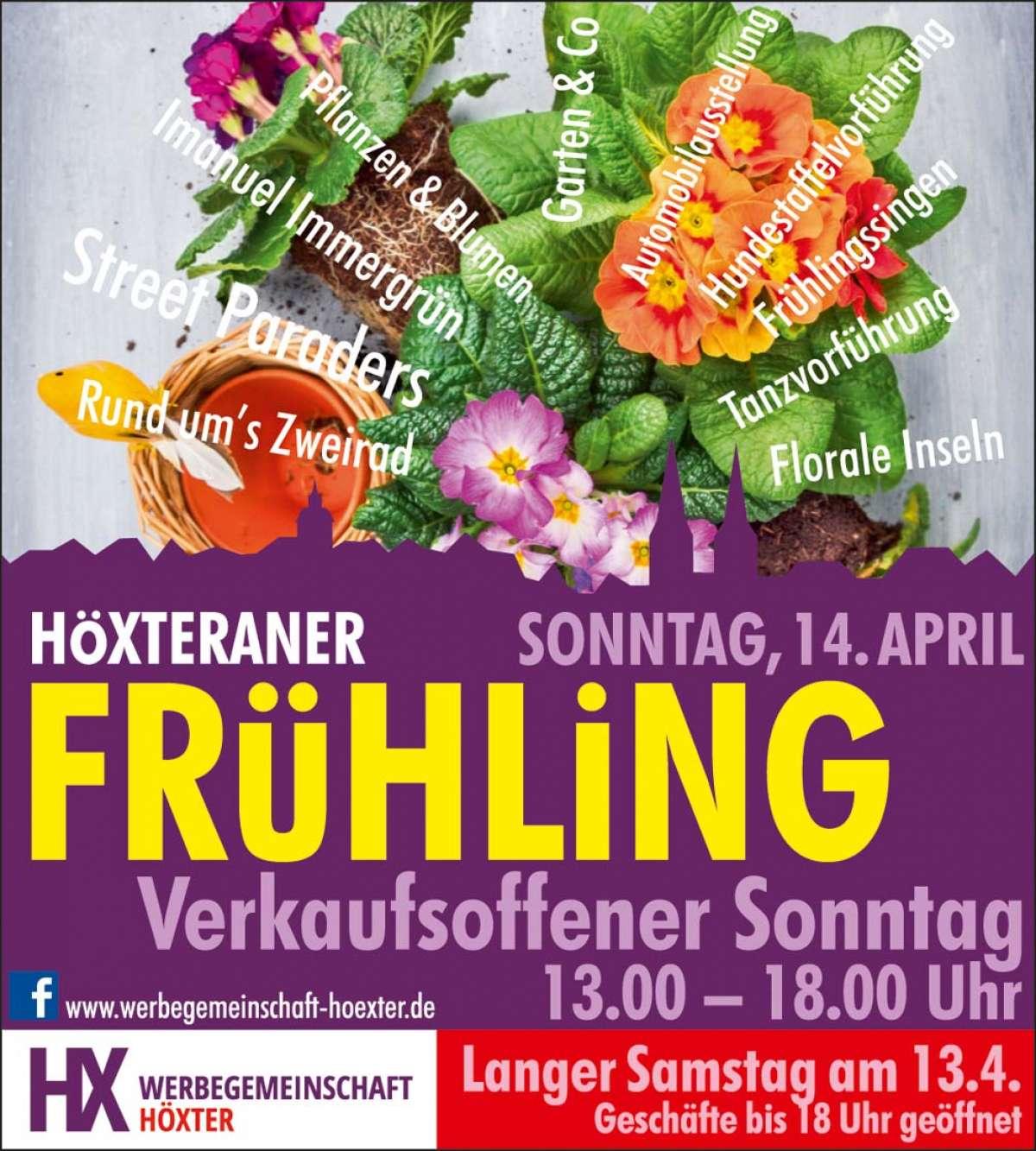 Veranstaltungen & Events am »Sonntag, 14. April 2019« in deiner Nähe...
