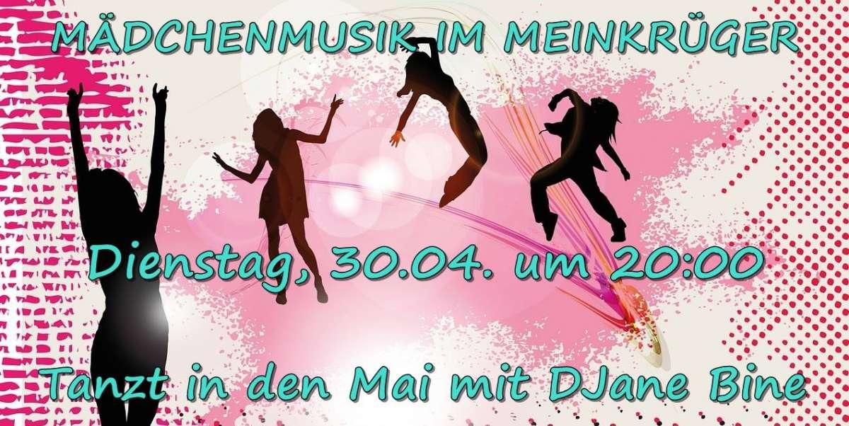 Mädchenmusik - DJane Bine - Meinkrüger - Paderborn
