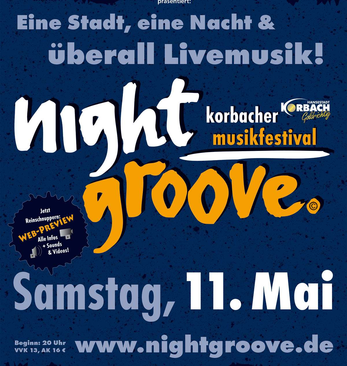 Nightgroove - The Herbpirates und Sonic Six - Zur Krone  - Korbach