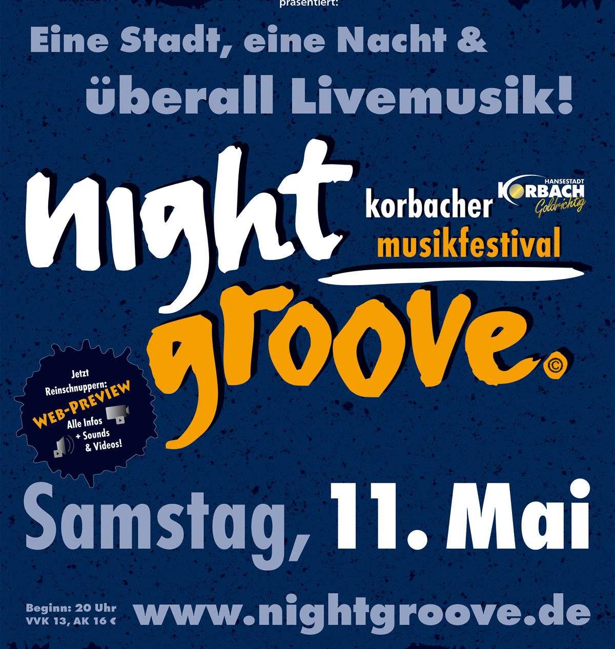 Nightgroove - JustBrill! - Bühne Obermarkt - Korbach