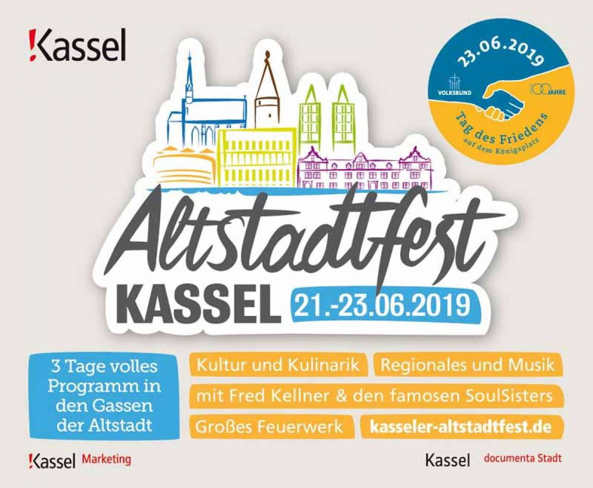 Altstadtfest Kassel -25. ADAC Oldtimerfahrt