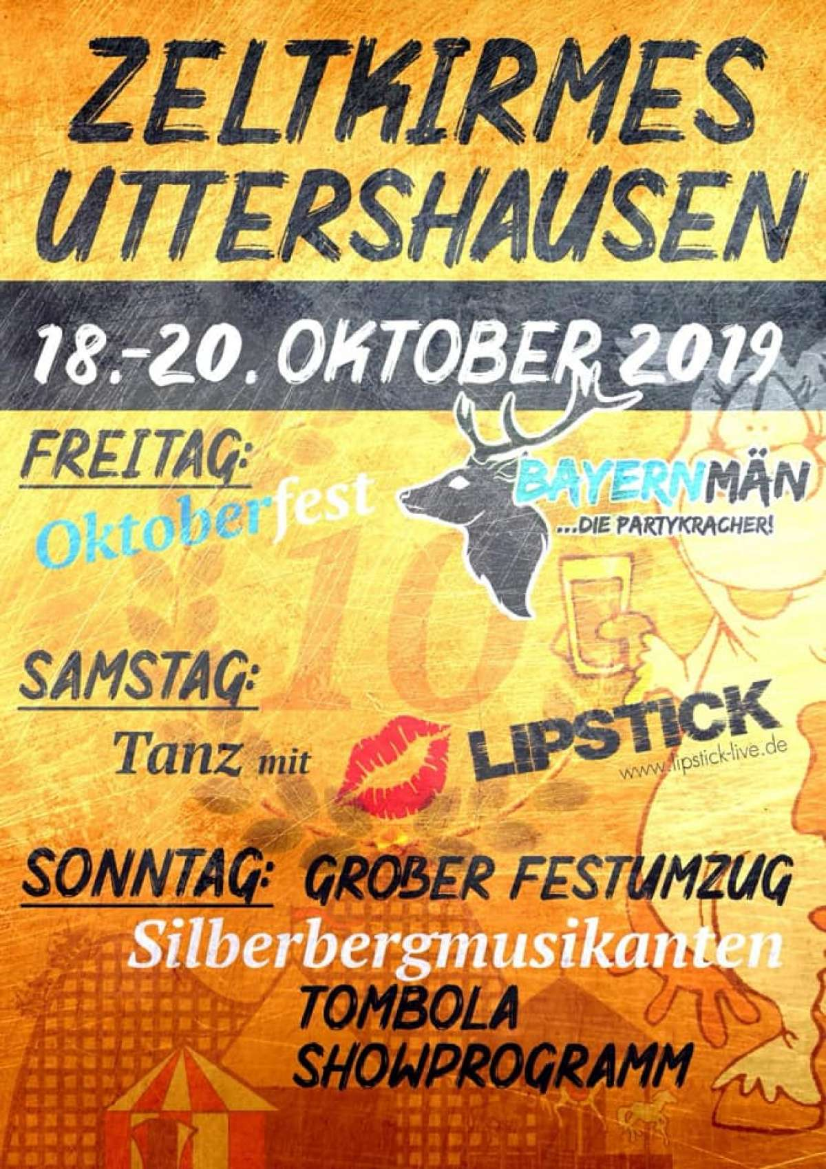 10, Zeltkirmes in Uttershausen - Festzelt Uttershausen - Wabern-Uttershausen