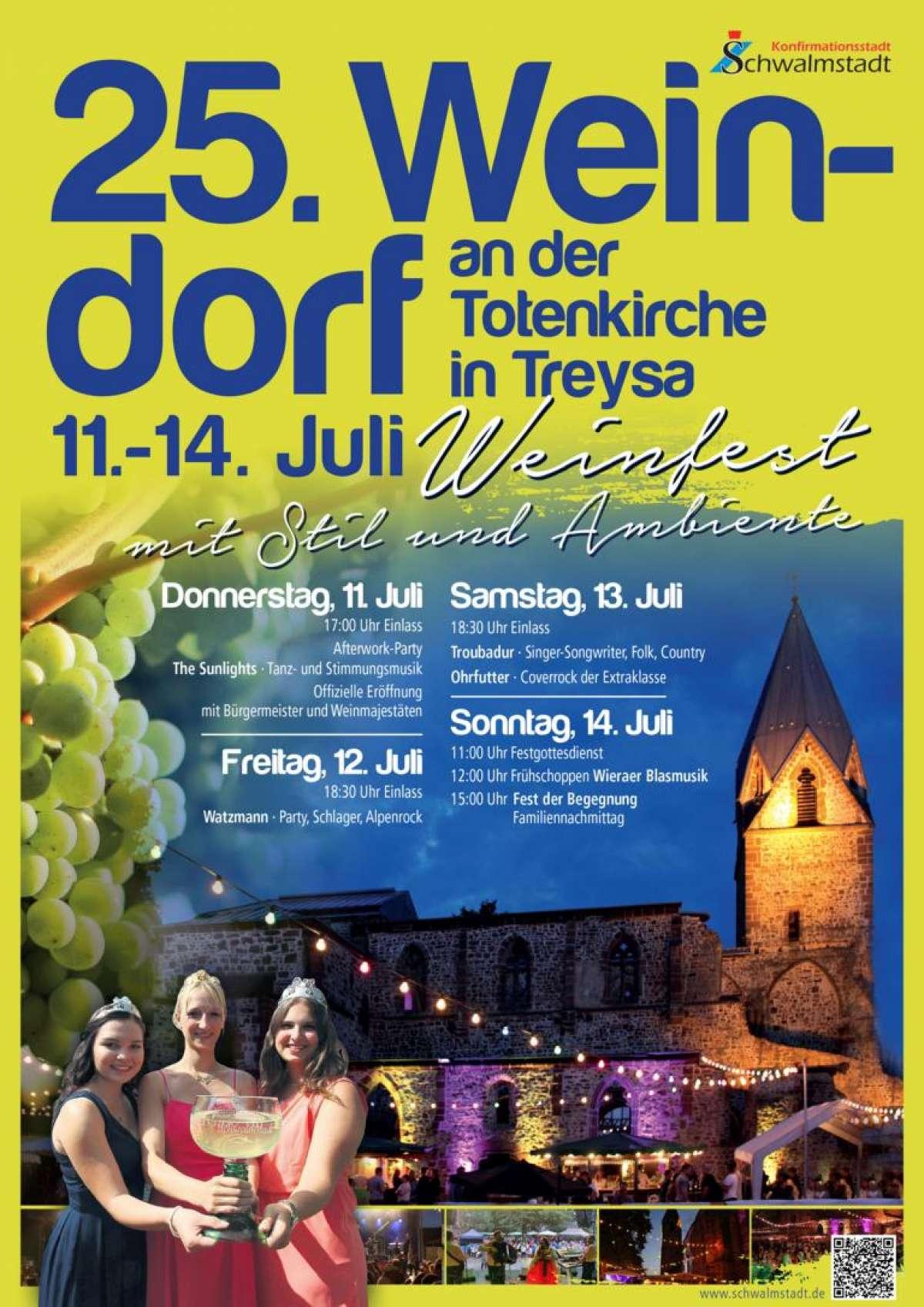 Weindorf an der Totenkirche - Troubadur, Ohrfutter - An der Totenkirche - Schwalmstadt-Treysa