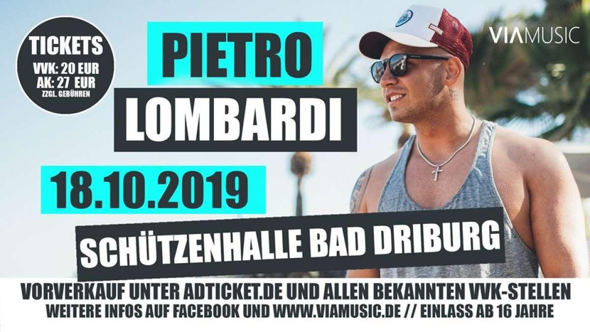 Pietro Lombardi  - Schützenhalle  - Bad Driburg