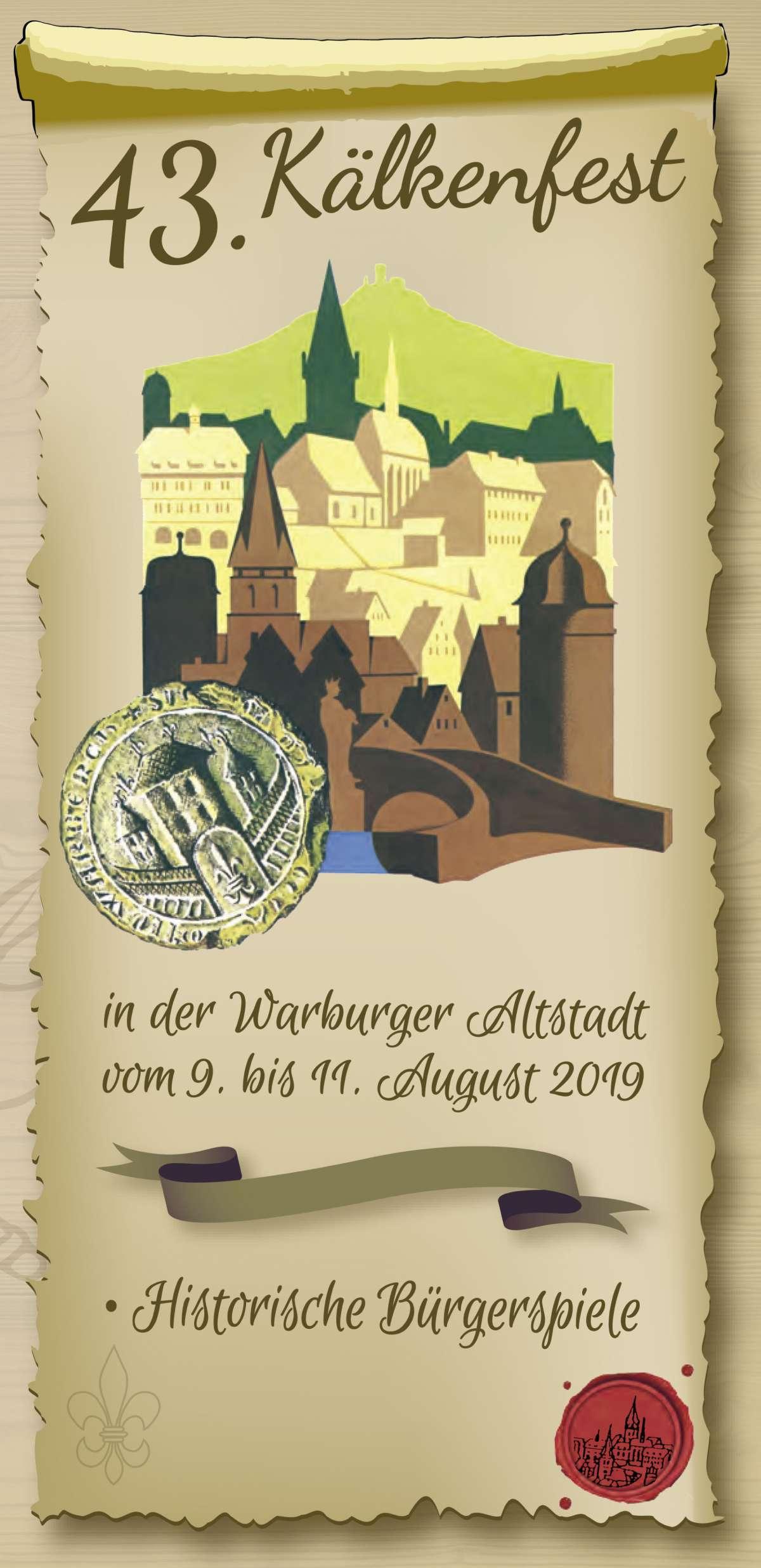43. Kälkenfest - Musikverein Germete,  Musikverein Daseburg, B&G Projäct  - Altstadtmarktplatz  - Warburg