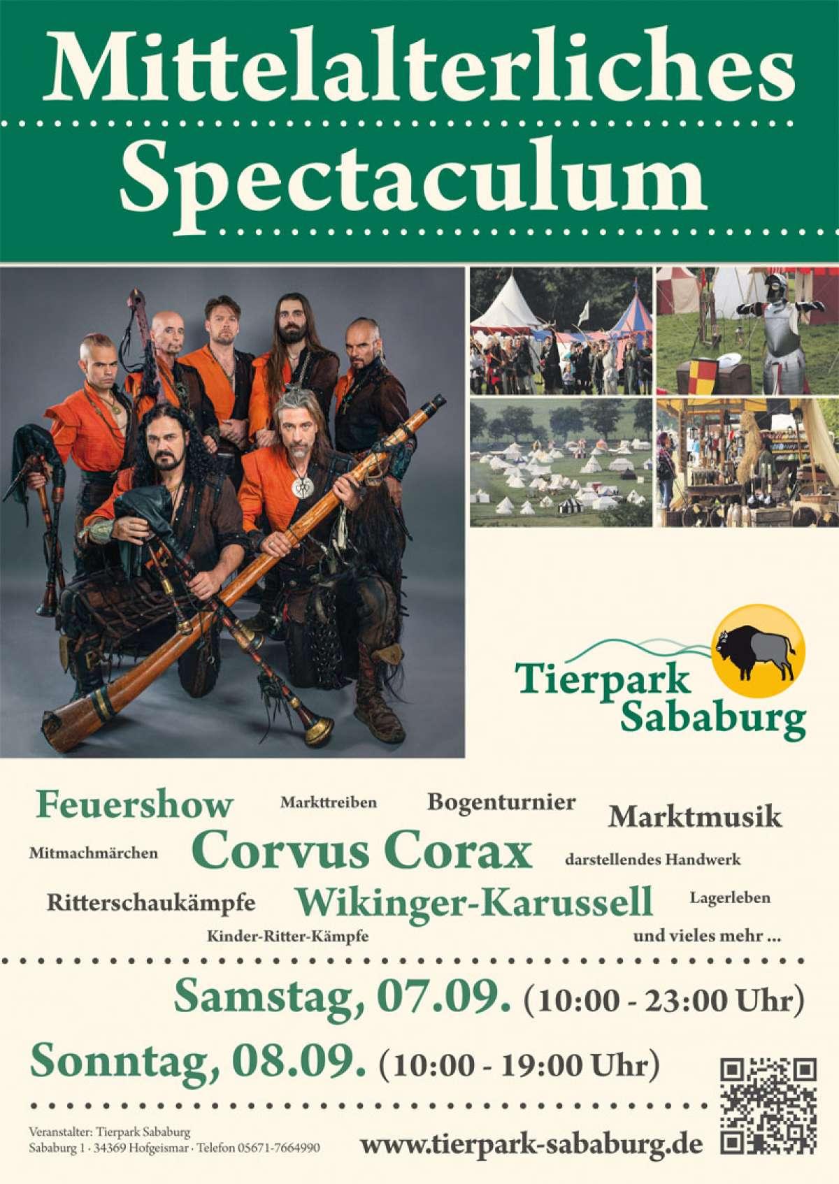 Mittelalterliches Spectaculum - Tierpark Sababurg - Hofgeismar