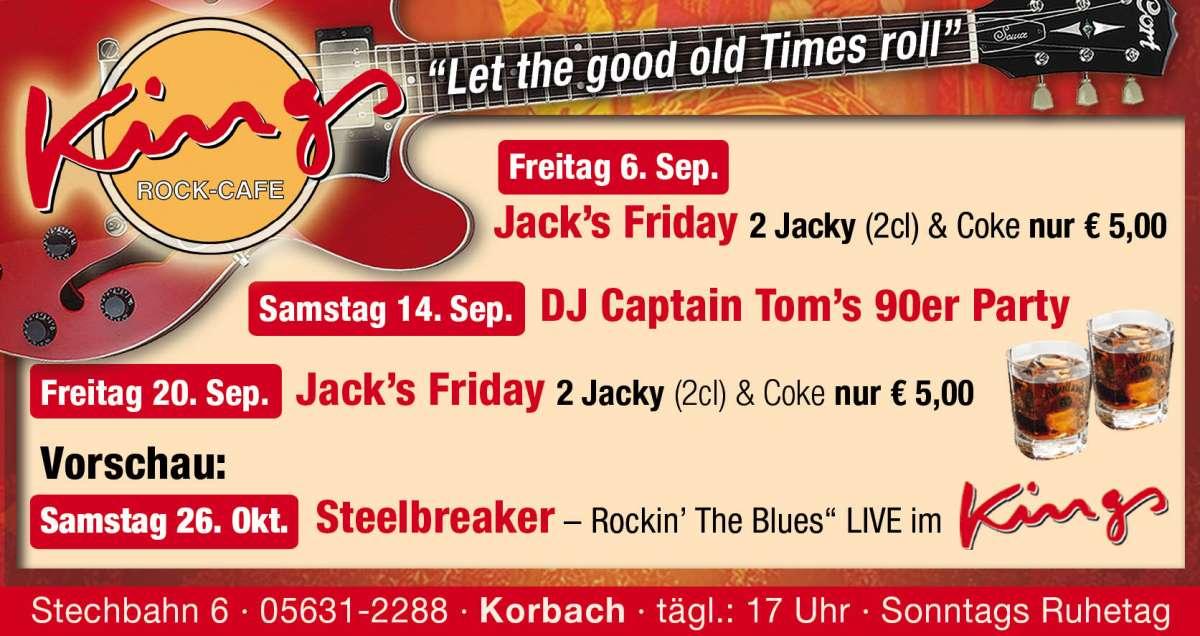 Jack's Friday - Kings - Korbach