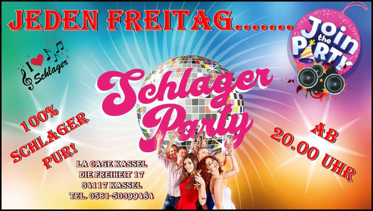 Schlagerparty - La Cage - Kassel