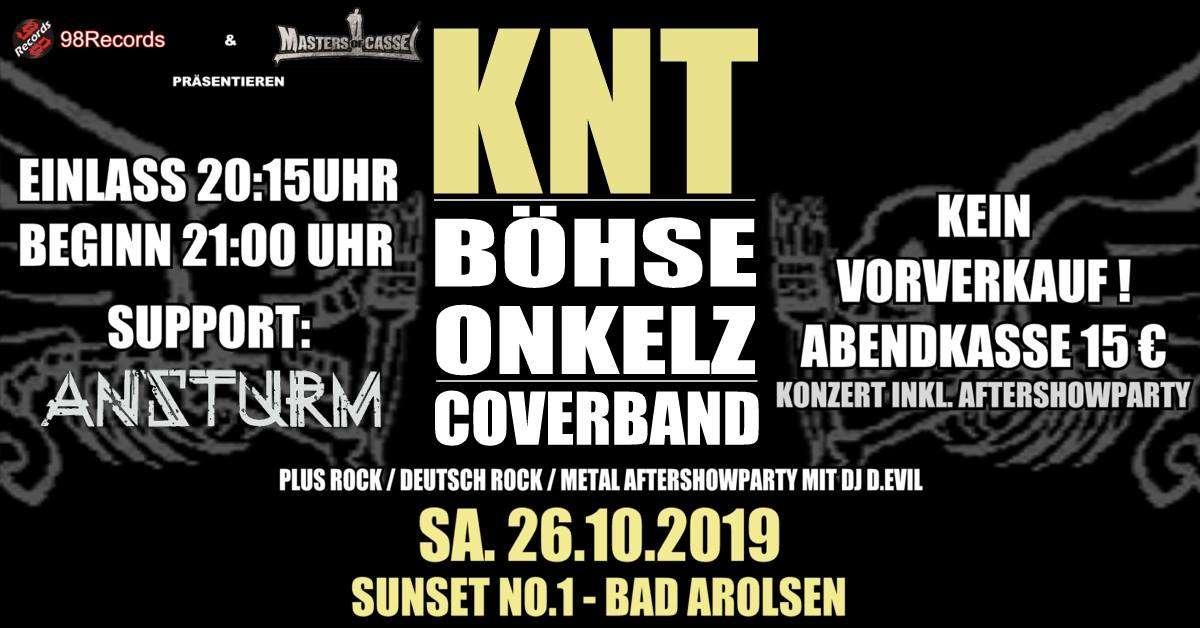 KNT, Ansturm - Sunset No.1 - Bad Arolsen