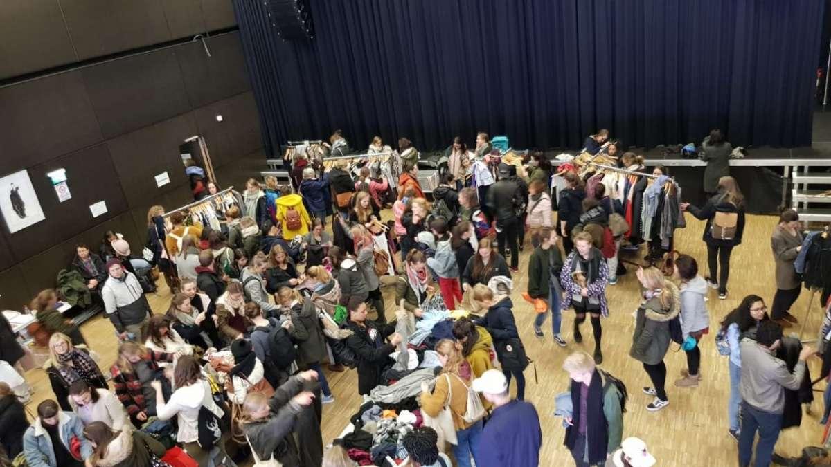 Tauschen statt Kaufen - Kleider-Tausch-Party - KFZ - Marburg