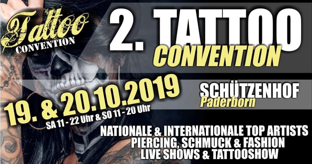 2. Tattooconvention - Schützenhof  - Paderborn