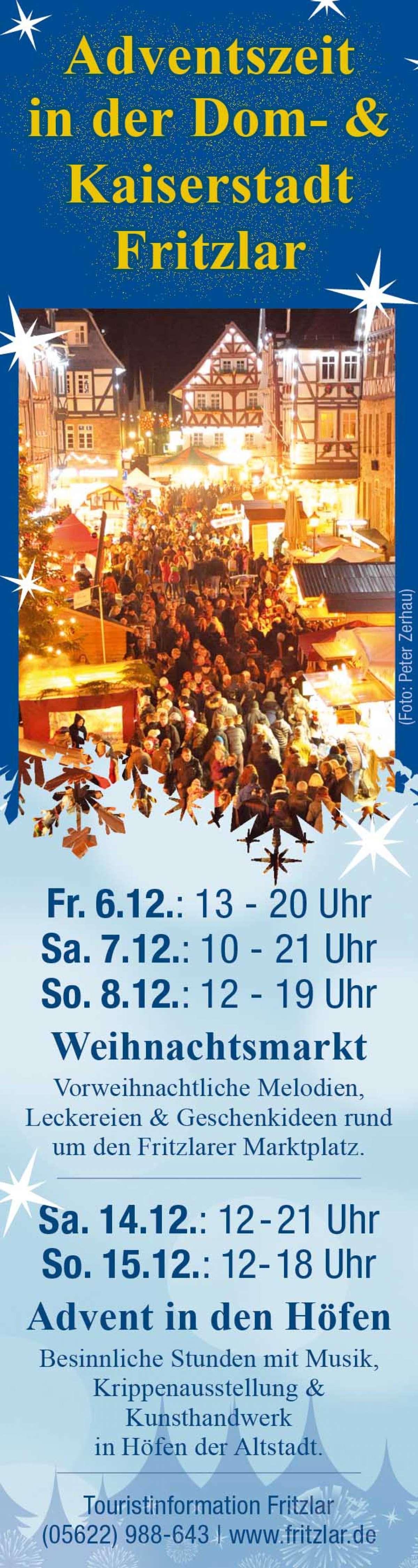 Advent in den Höfen - Altstadt  - Fritzlar