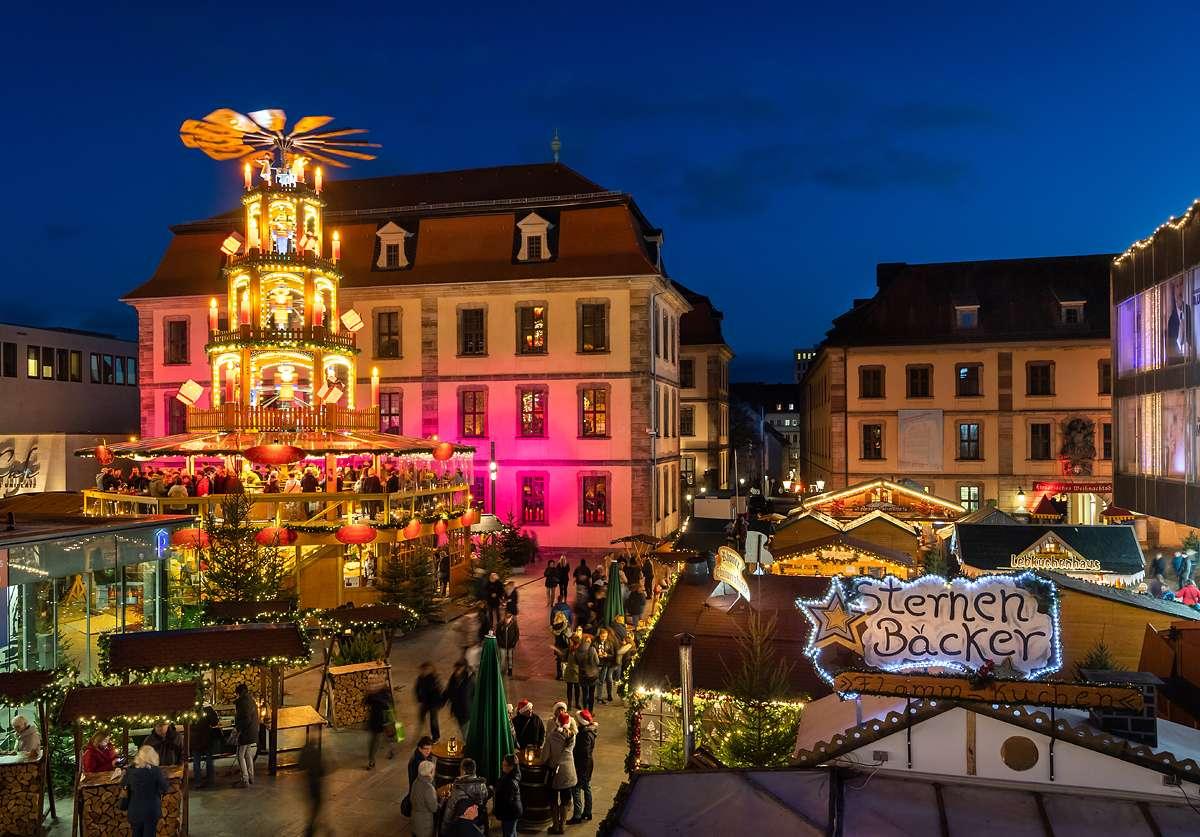 Weihnachtsmarkt in Fulda - Innenstadt  - Fulda