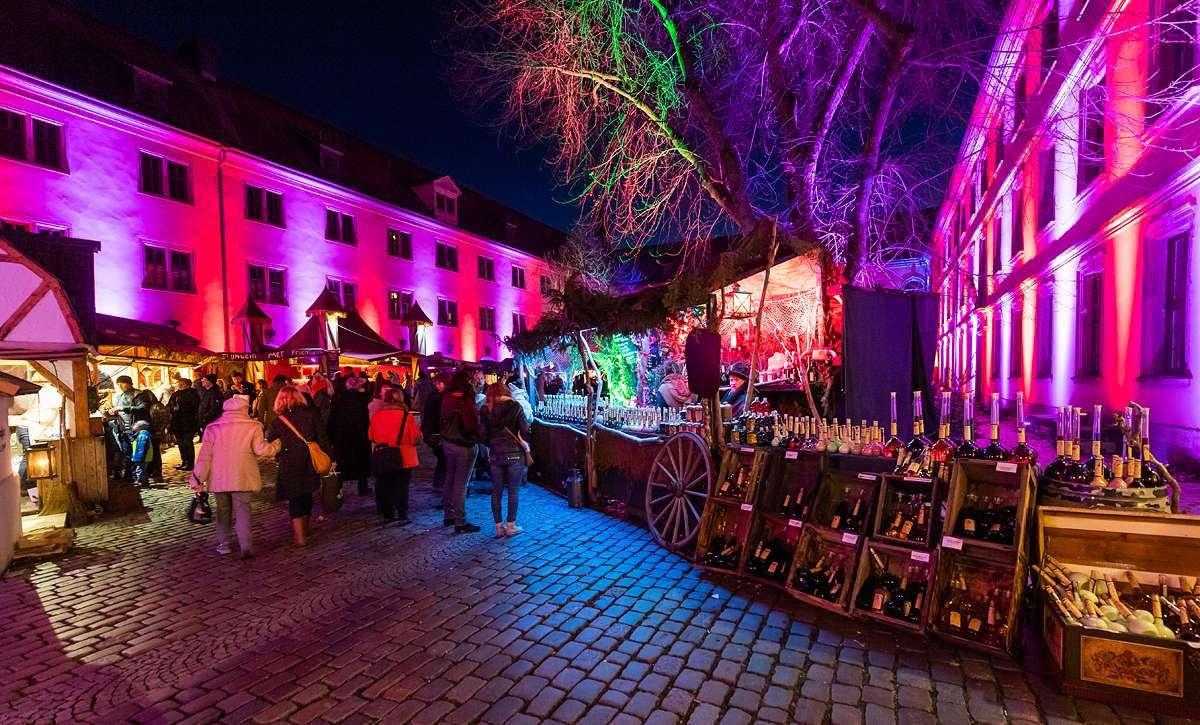 Weihnachtsmarkt in Fulda