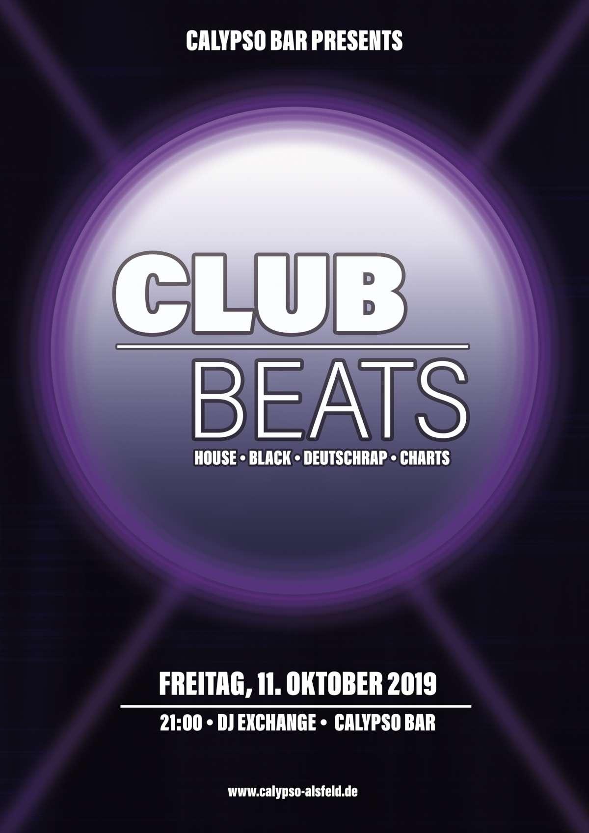 Club Beats - DJ Exchange - Calypso Bar - Alsfeld-Altenburg