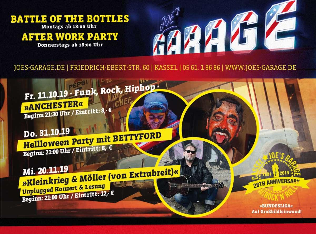 Battle of the Bottles - Joe's Garage  - Kassel