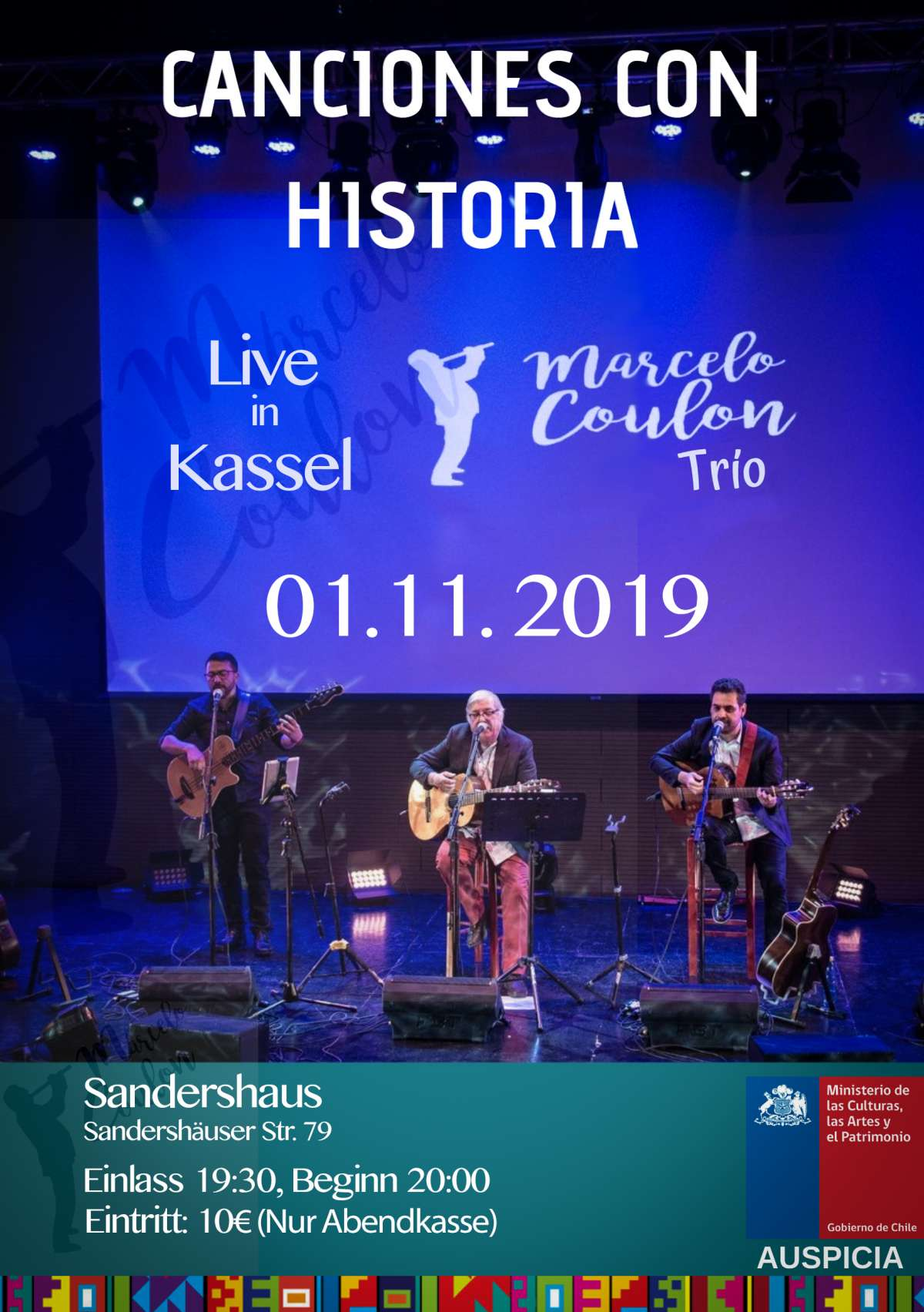 Marcelo Coulón Trio - Sandershaus  e.V. - Kassel