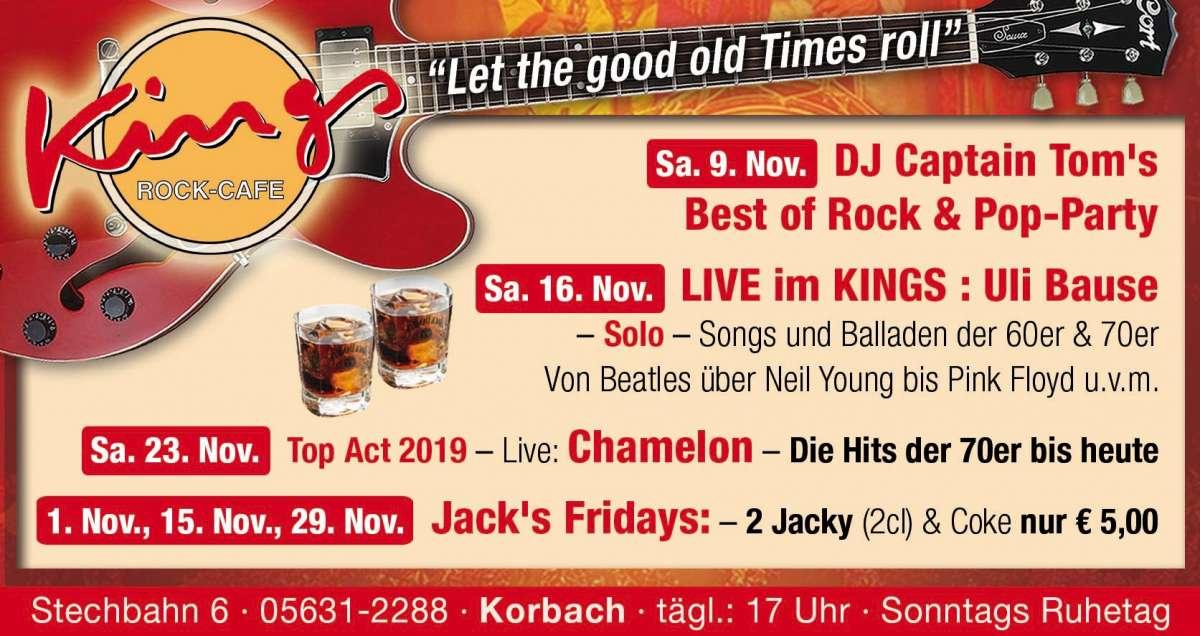 Veranstaltungen & Events am »Freitag, 29. November 2019« in deiner Nähe...