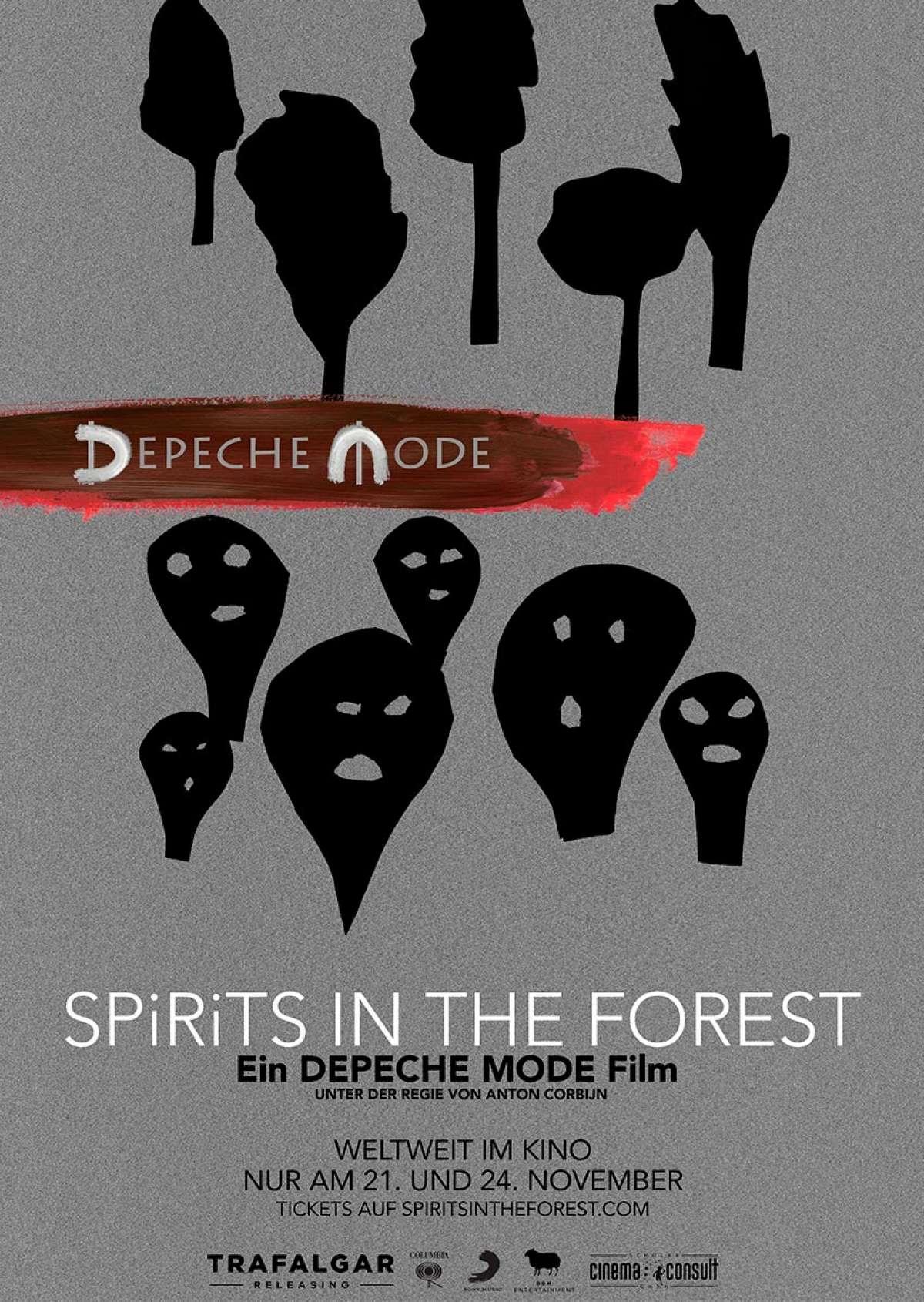 Depeche Mode: SPIRITS in the Forest - Depeche Mode - Cine-Royal  - Fritzlar