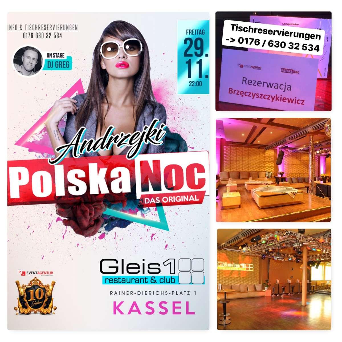 Polska Noc - Andrzejki 2019 - DJ Greg - Gleis 1 - Kassel