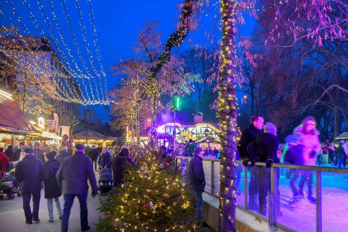 Weihnachtsmarkt Bad Oeynhausen - Posaunenchor Werste - Innenstadt  - Bad Oeynhausen