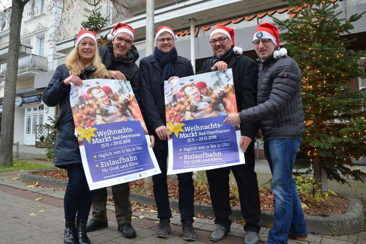 Weihnachtsmarkt Bad Oeynhausen - Innenstadt  - Bad Oeynhausen