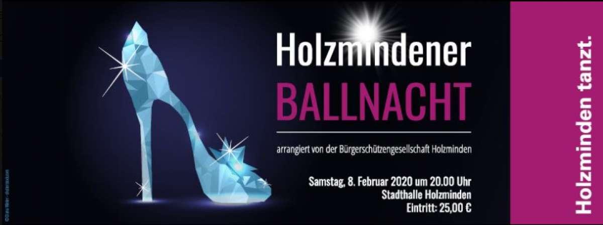 Holzmindener Ballnacht - Stadthalle  - Holzminden