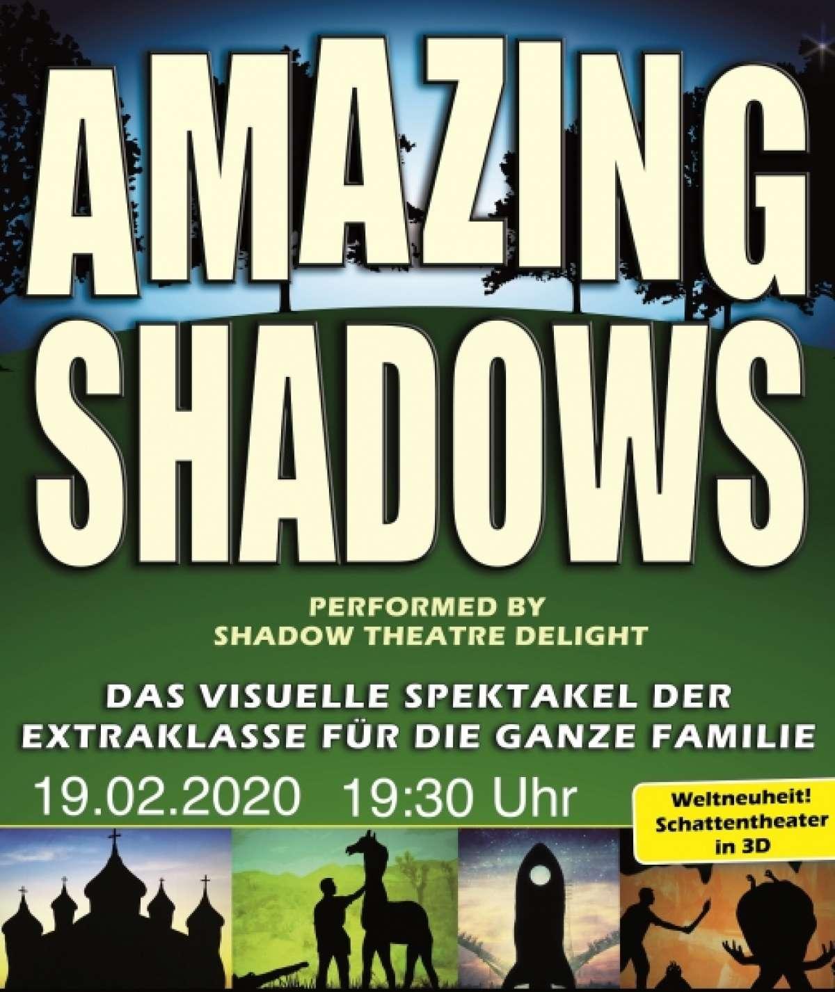 Amazing Shadows - Shadow Theatre Delight - Stadthalle  - Holzminden