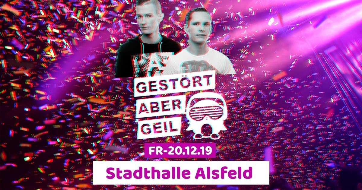 Houseparty - Gestört aber Geil, Steilhoch3  - Stadthalle  - Alsfeld