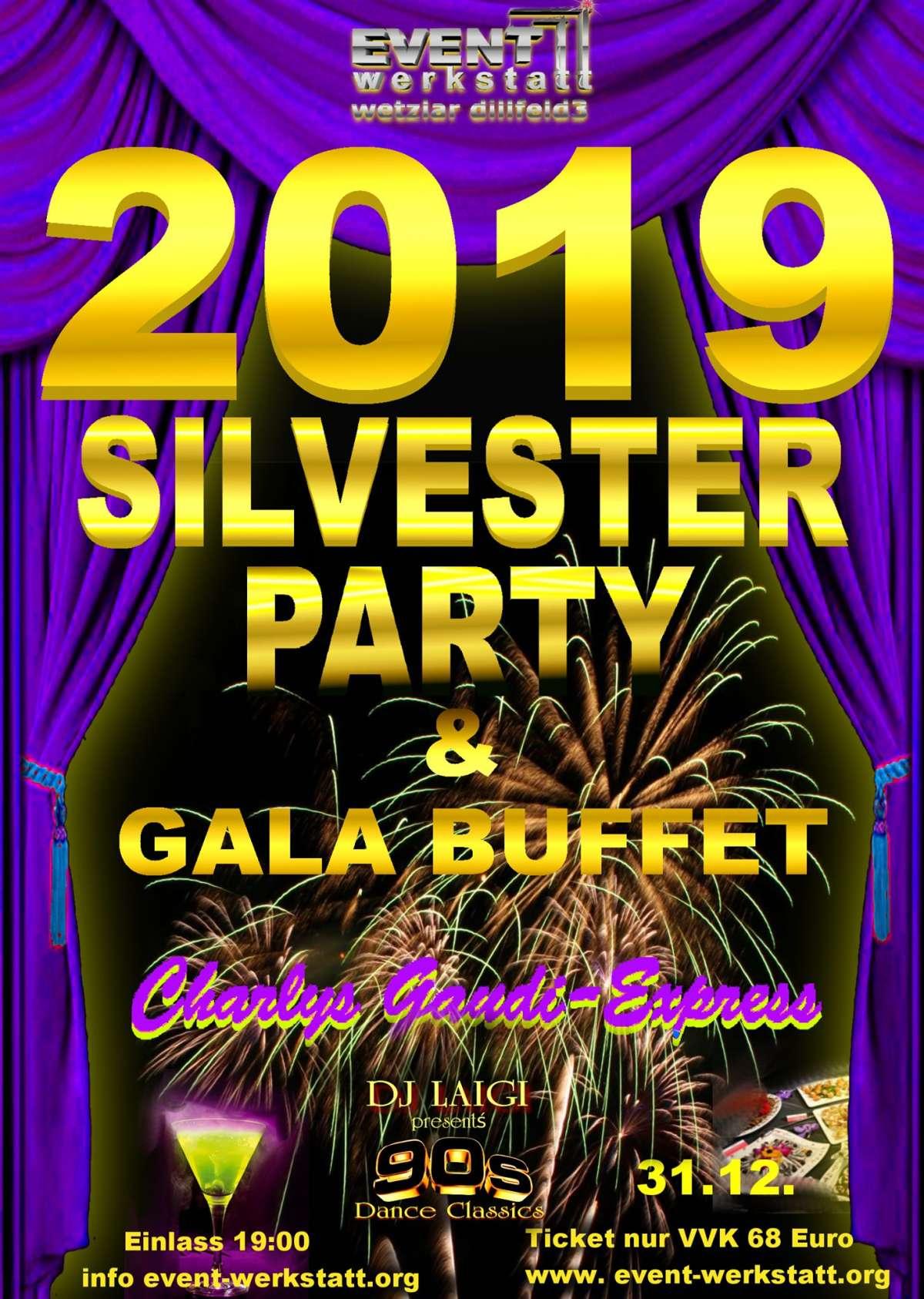 2019 Silvester-Party - Event Werkstatt  - Wetzlar