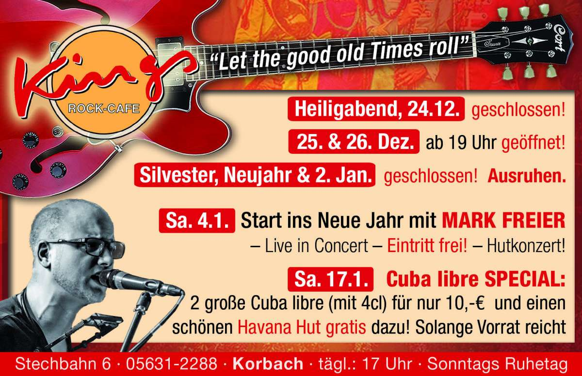 Veranstaltungen & Events in Korbach