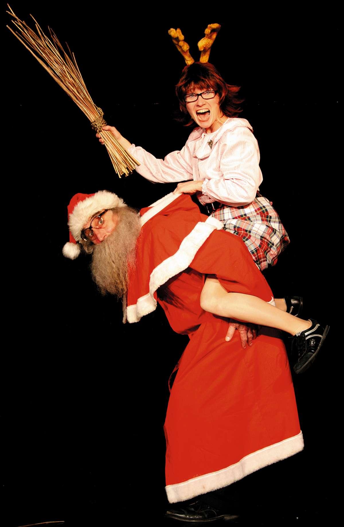 Die skurile Weihnachtsfeier mit Willi Lieverscheidt und Kascha B. - Compagnia Buffo  präsentiert: Weihnachtsfeier - Kulturzentrum Schlachthof KS - Kassel