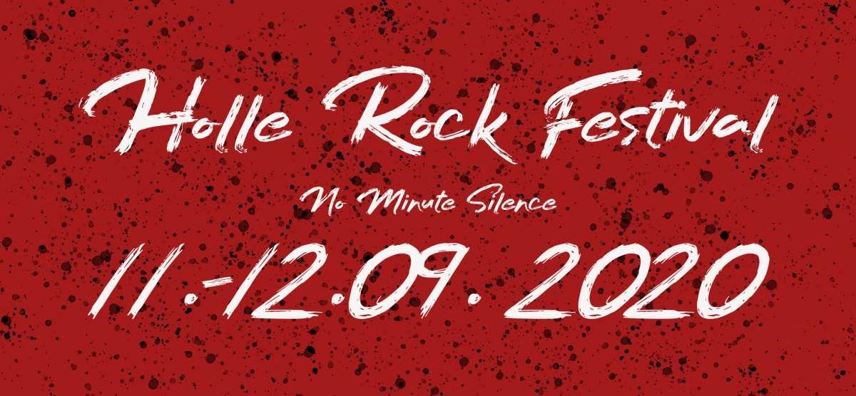 Holle Rock Festival 2020 - No Minute Silence - ehemaliges Freibadgelände - Hessisch Lichtenau