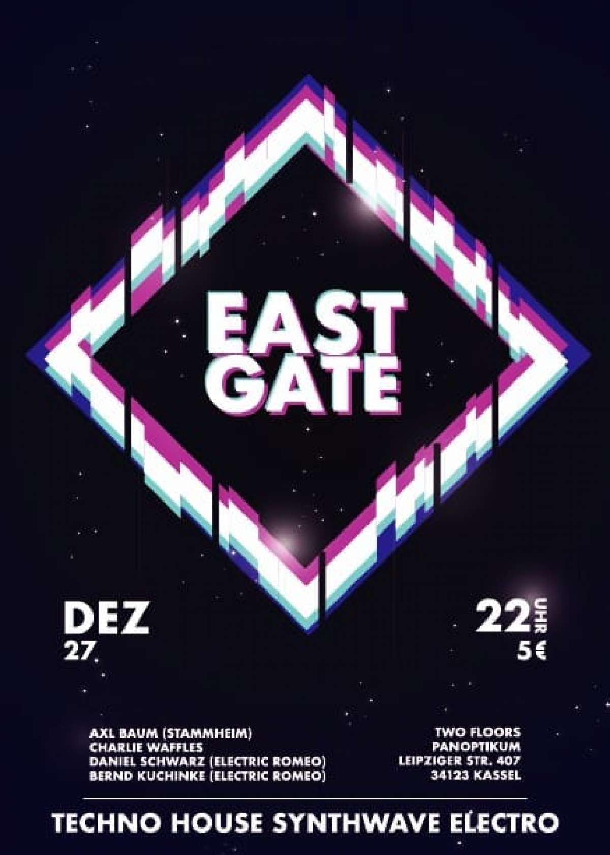 Eastgate - Axl Baum, Charlie Waffles, Daniel Schwarz, Bernd Kuchinke - Panoptikum Club - Kassel