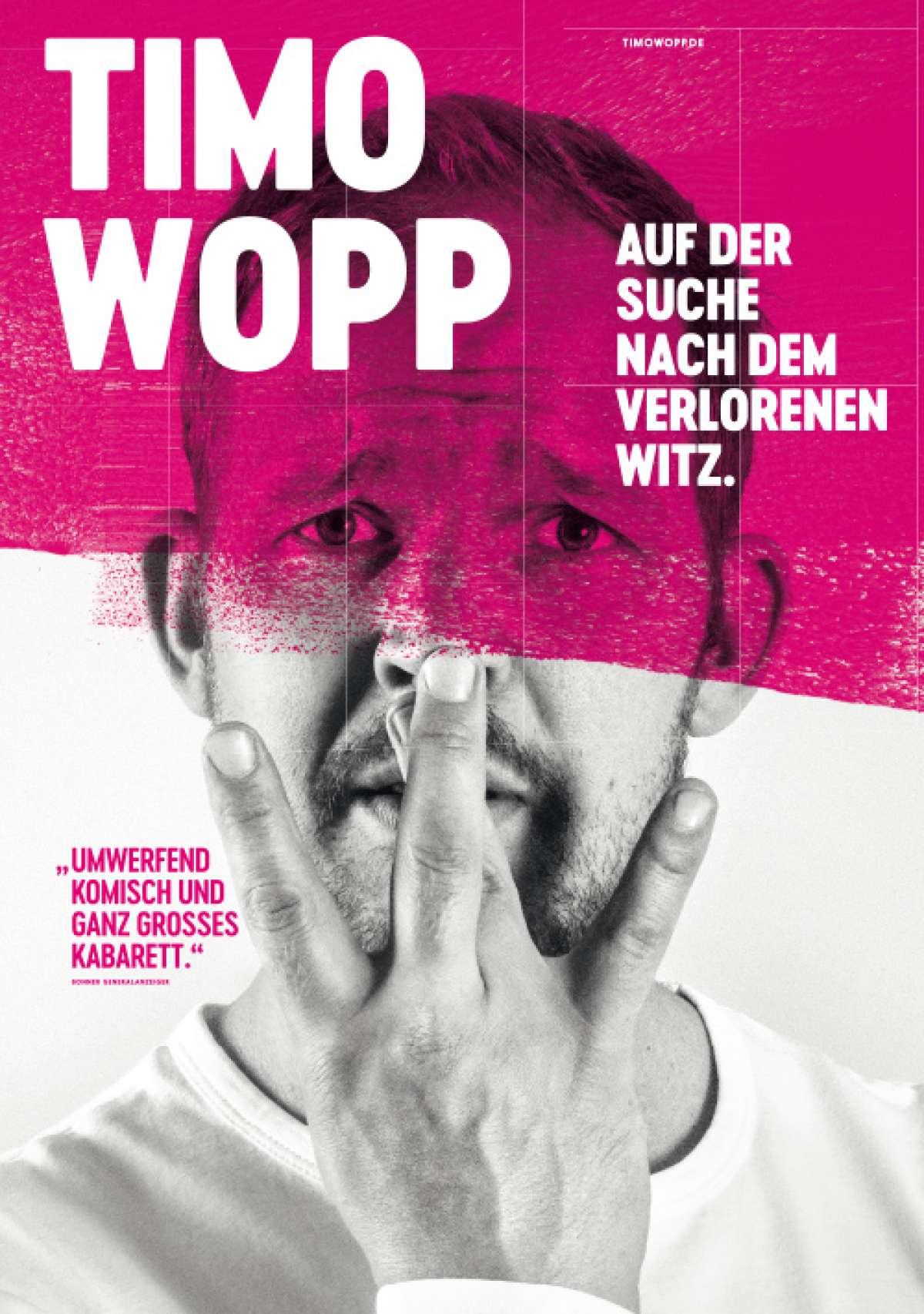 Timo Wopp - Stadthalle  - Baunatal