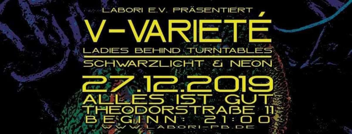 V-Varieté - Ladies behind turntables // Blacklight Edition - Alles ist gut - Paderborn