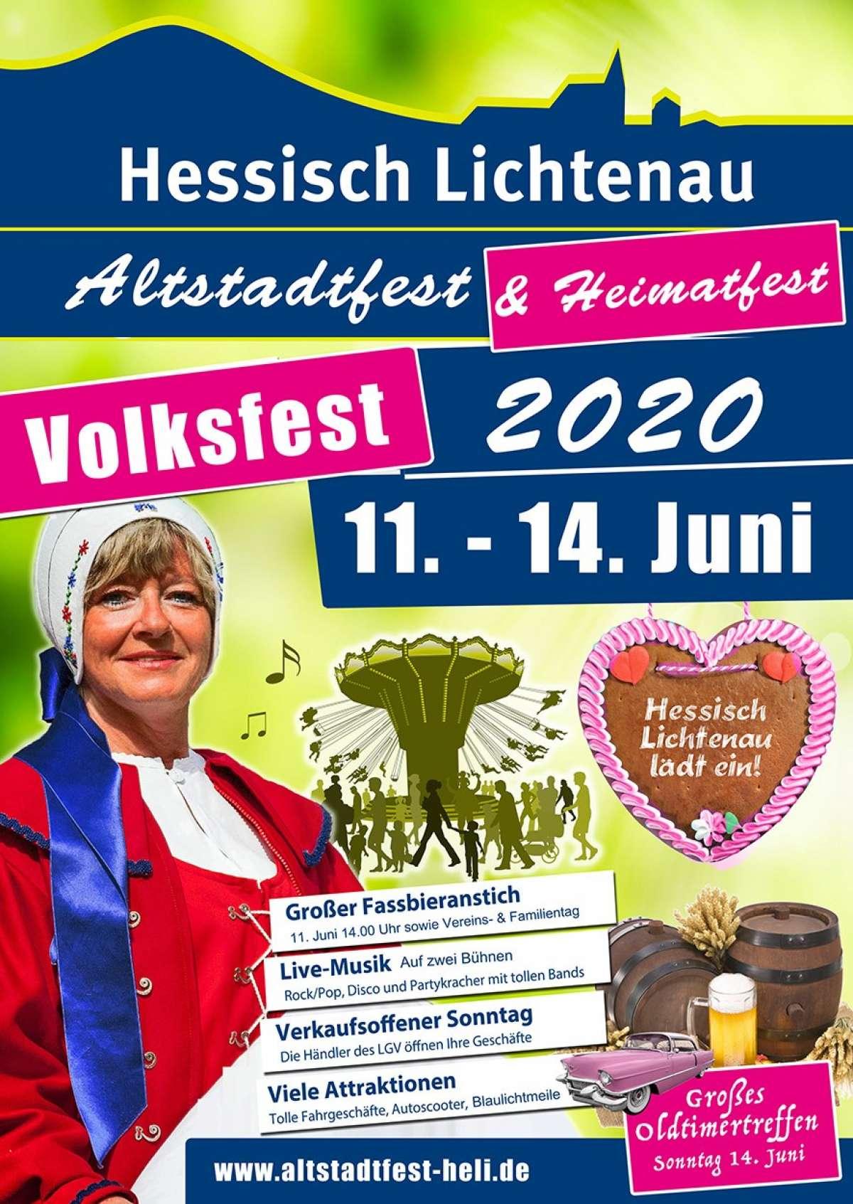 Heimat- und Altstadtfest - Altstadt Hessisch-Lichtenau - Hessisch Lichtenau