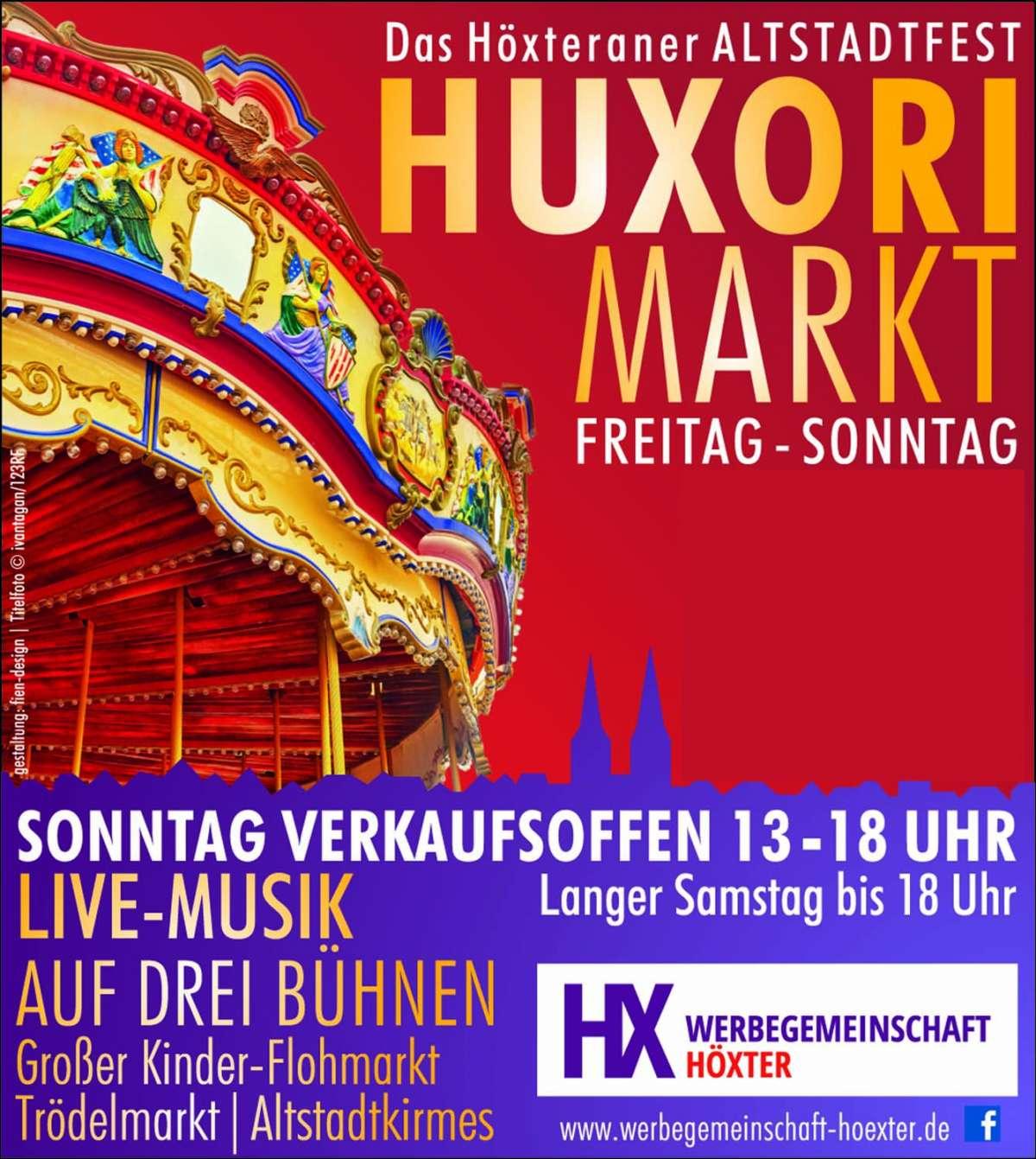 ABGESAGT! Huxori-Markt - Innenstadt  - Höxter