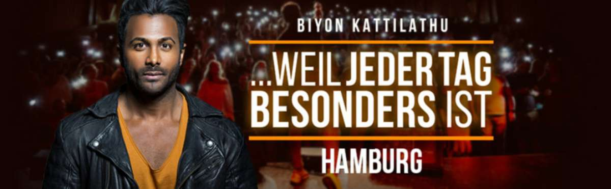 ...Weil jeder Tag besonders ist - Biyon Kattilathu - Kulturbahnhof,  - Kassel