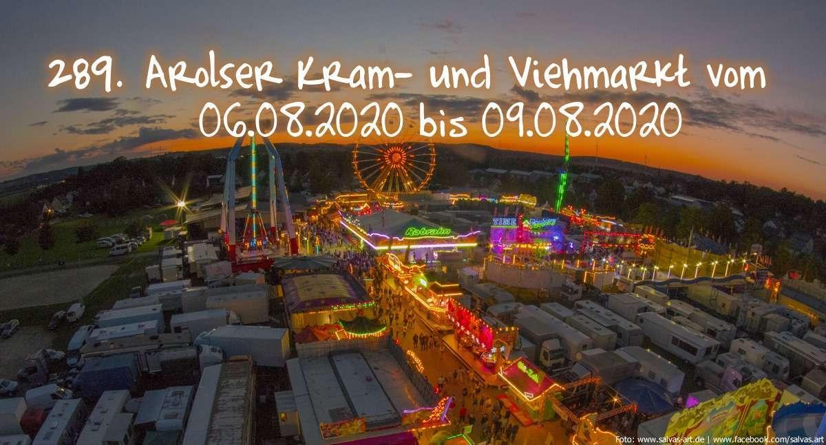 ABGESAGT! 289. Arolser Kram- und Viehmarkt - Festplatz Königsberg - Bad Arolsen