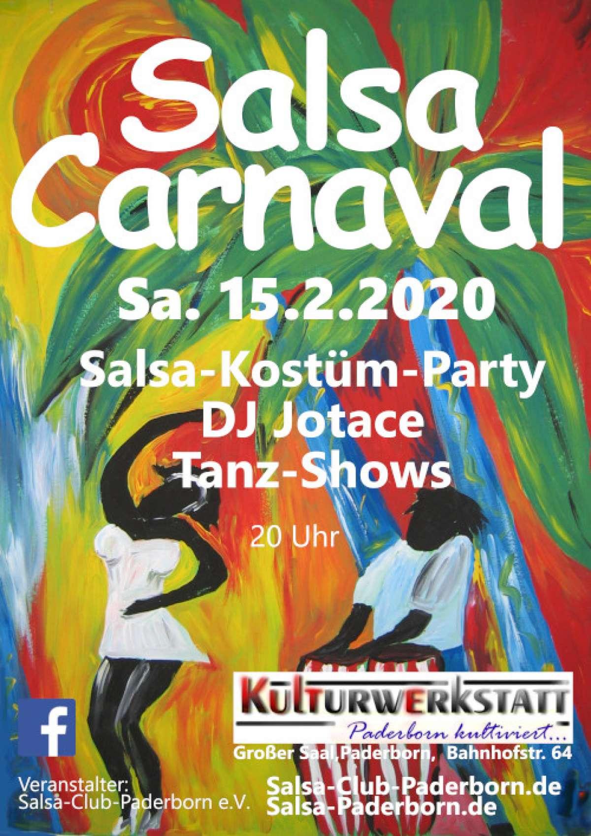 Salsa-Carnaval - DJ Jotace - Kulturwerkstatt (Großer Saal) - Paderborn