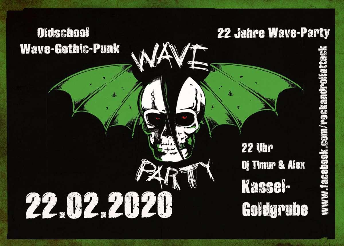 WAVE - PARTY - DJ  Timur und Alex  - Goldgrube  - Kassel