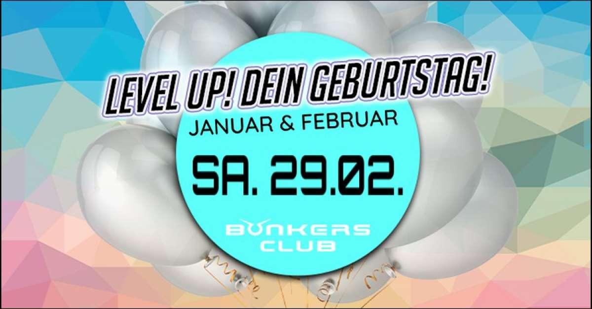 Level Up! - Dein Geburtstag - Bonkers Club  - Frankenberg