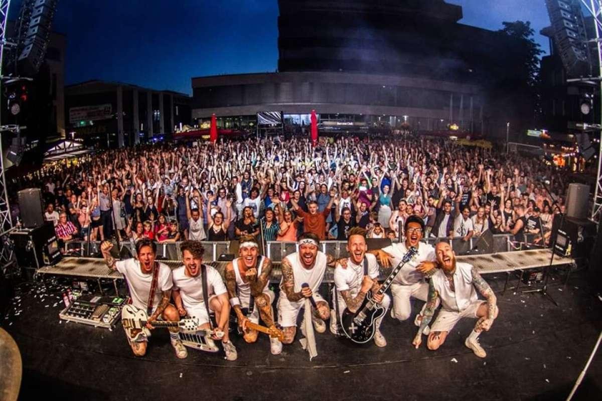 Stadtfest Baunatal 2020 - The Dirty Daddies - Marktplatz  - Baunatal