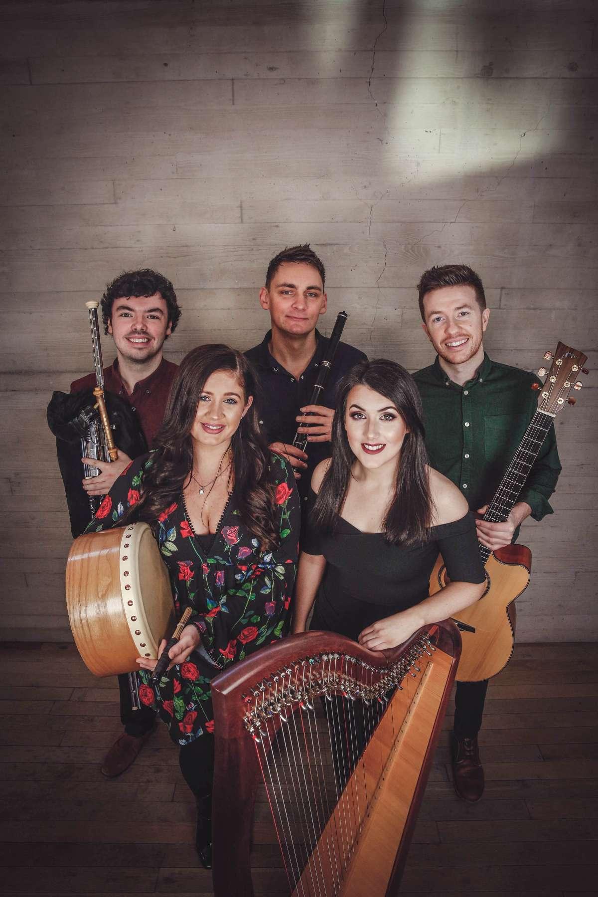 Irish Spring Festival - Niall Hanna & Stephen Loghran, David Munnelly Band feat. Anne Brennan, Connla, Aneta Dortová - Wandelhalle  - Bad Wildungen