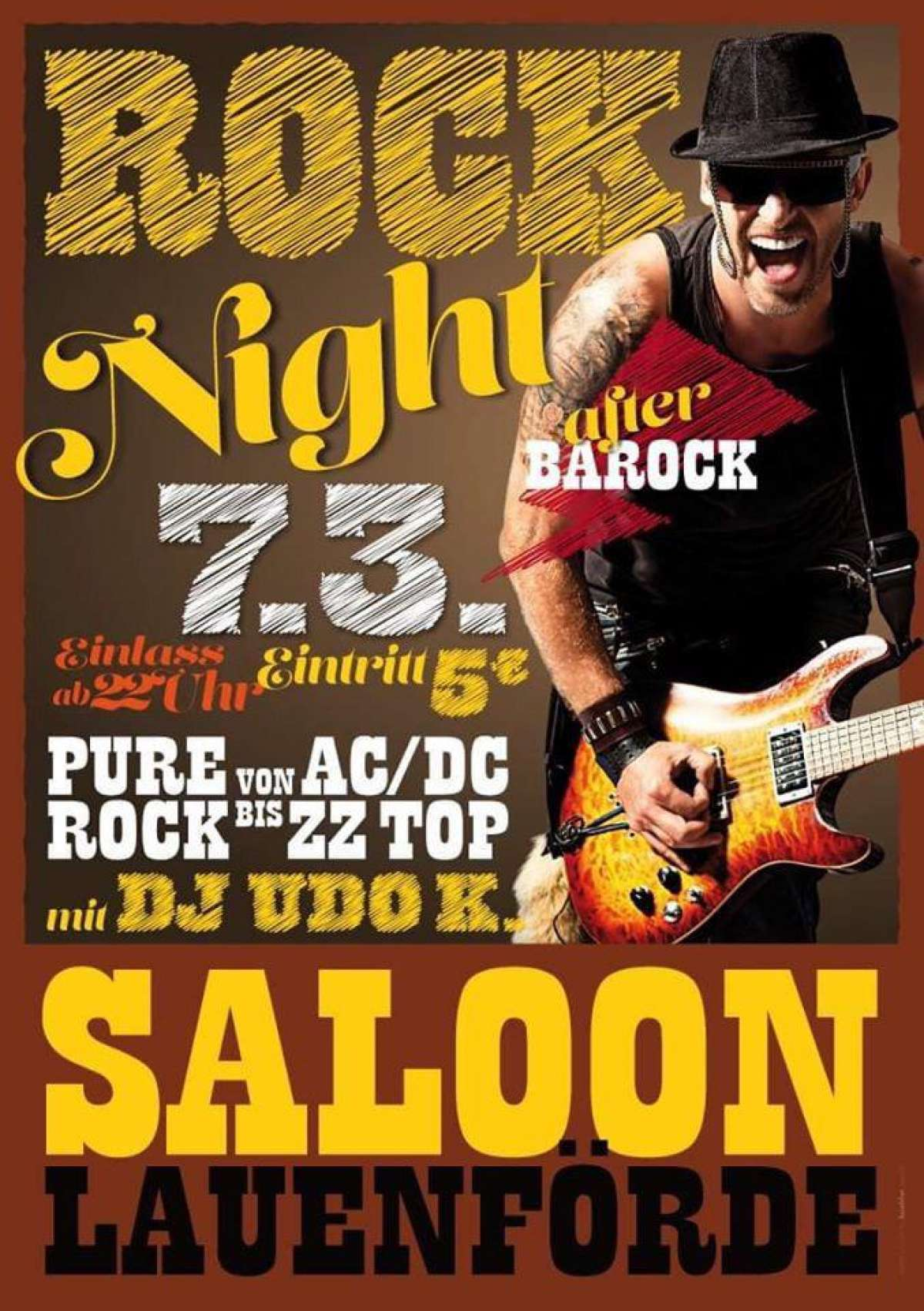 Rock Night - DJ Udo K. - Saloon  - Lauenförde