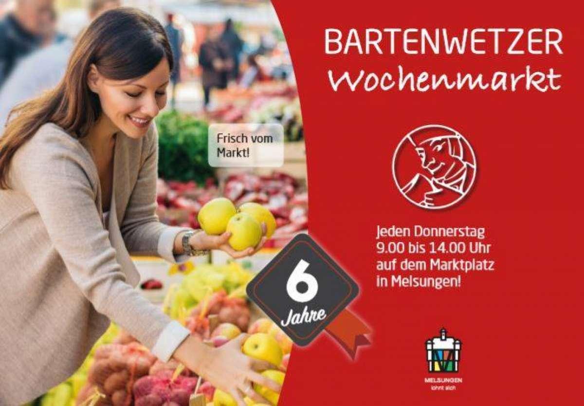 Bartenwetzer Wochenmarkt - Marktplatz  - Melsungen