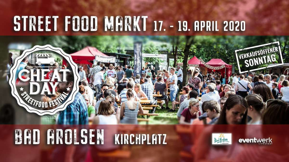 Cheatday Street Food Markt - Kirchplatz  - Bad Arolsen