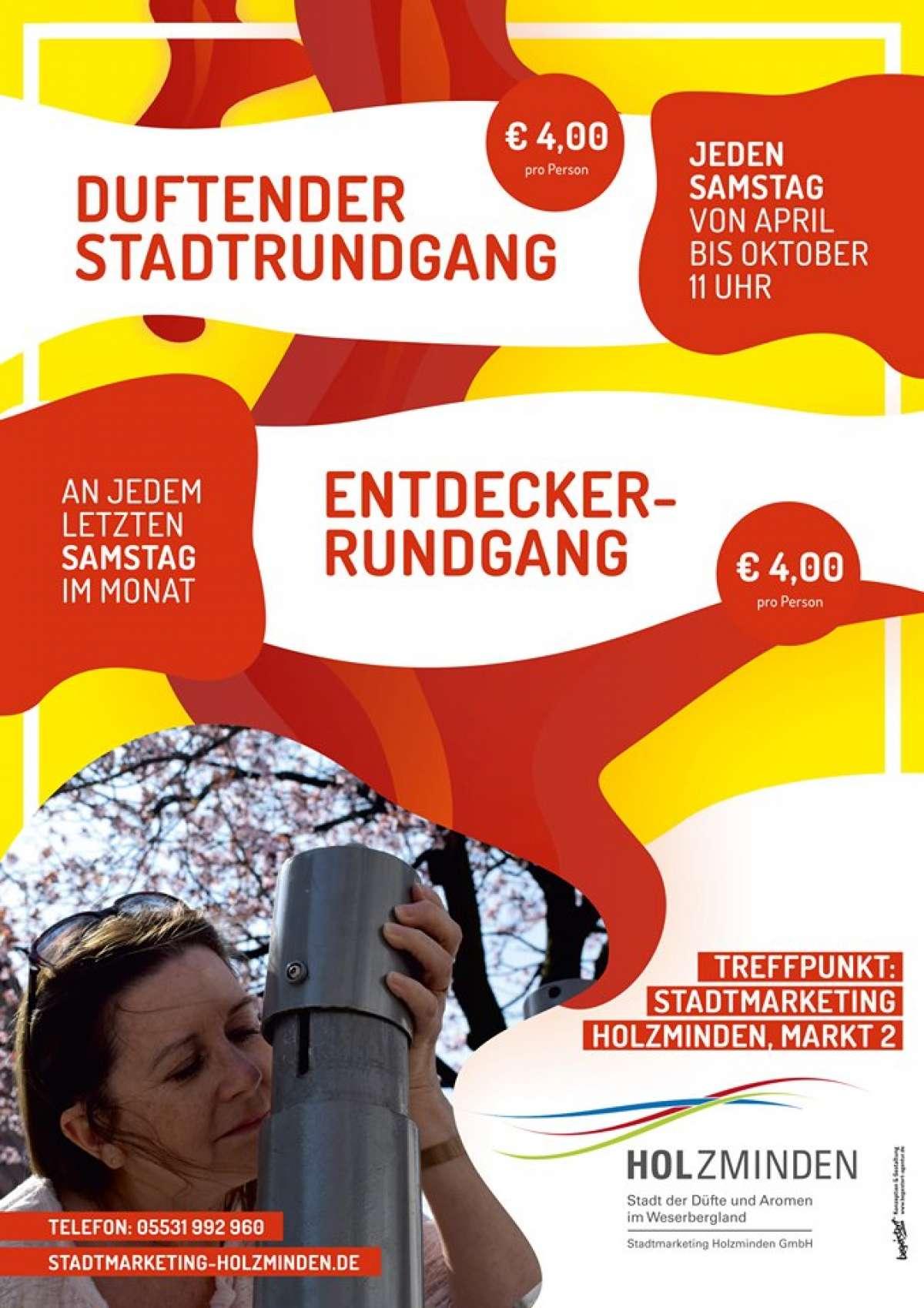 Duftender Stadtrundgang - Innenstadt  - Holzminden